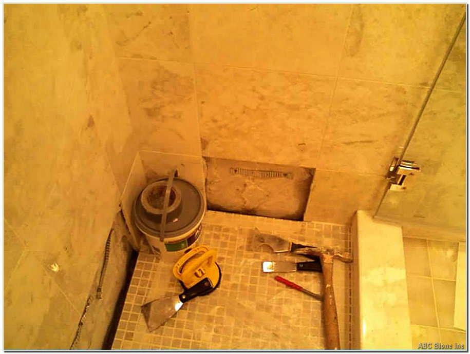 Tiled Shower Wall. Tiles Replacment