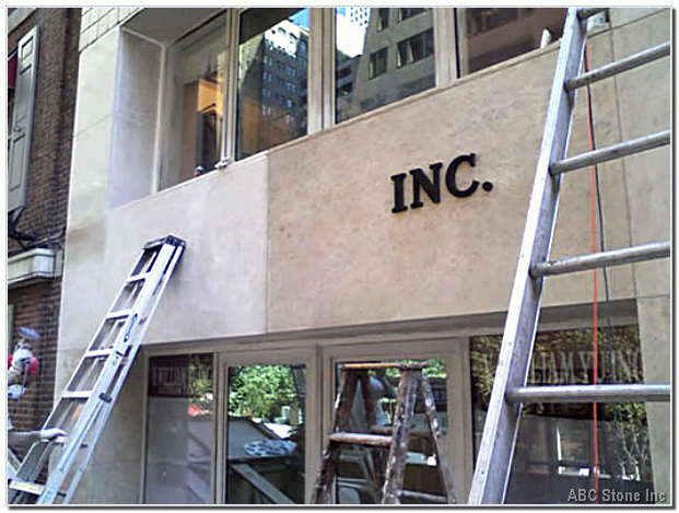 Marble Storefront Panels Restoration Gallery