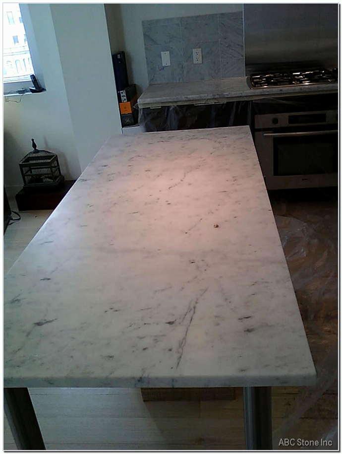 Dull Kitchen Marble Island