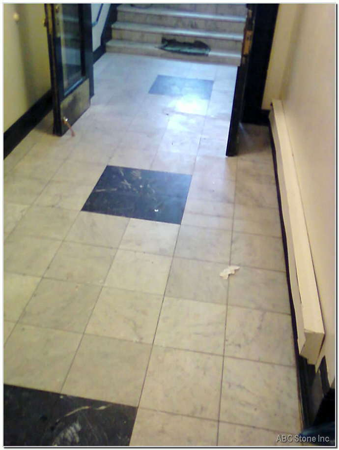 Lobby Floor Repair