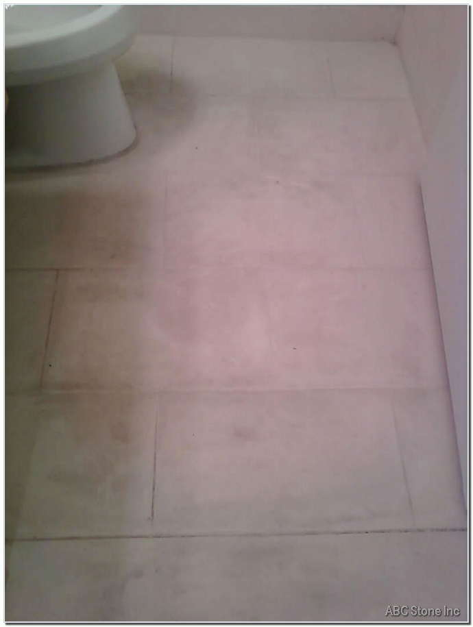Bathroom Marble Floor Cleaning