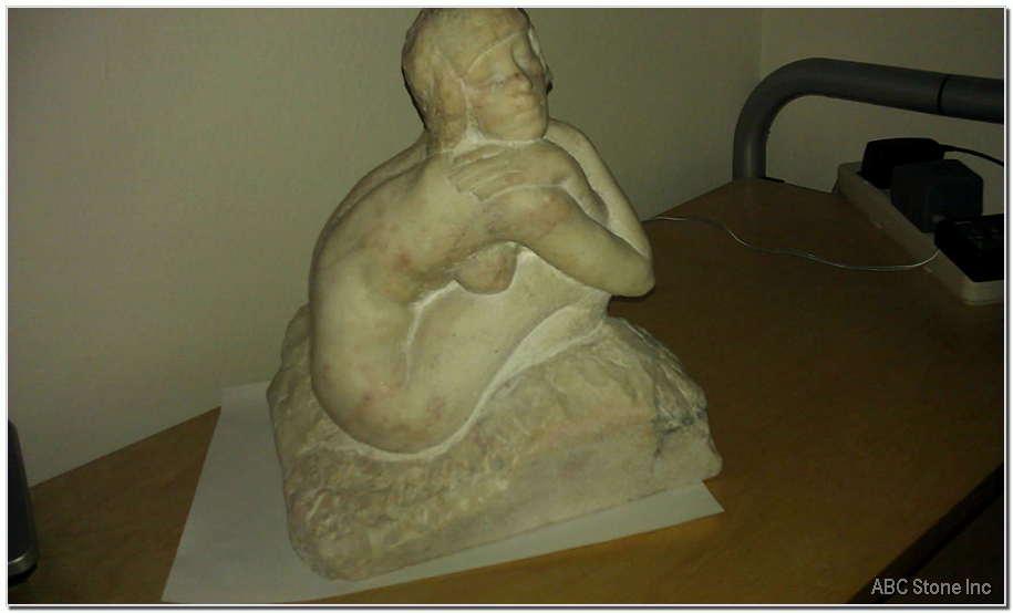 Marble Statue Repair