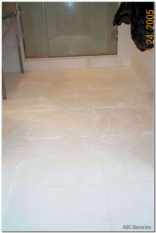 Old Grout Removal