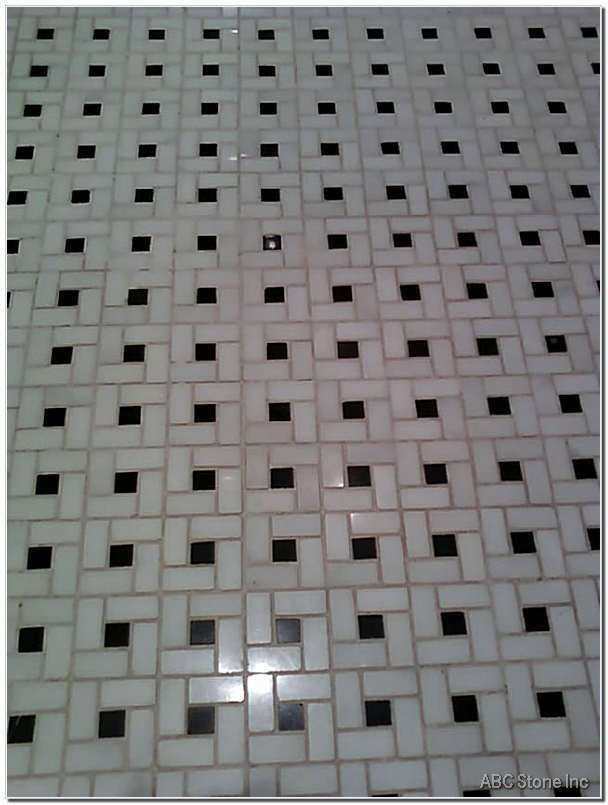 Mosaic Marble Floor Cleaning