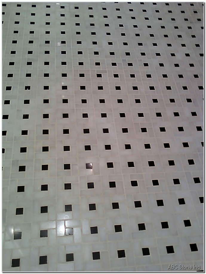 Mosaic Grout Cleaning