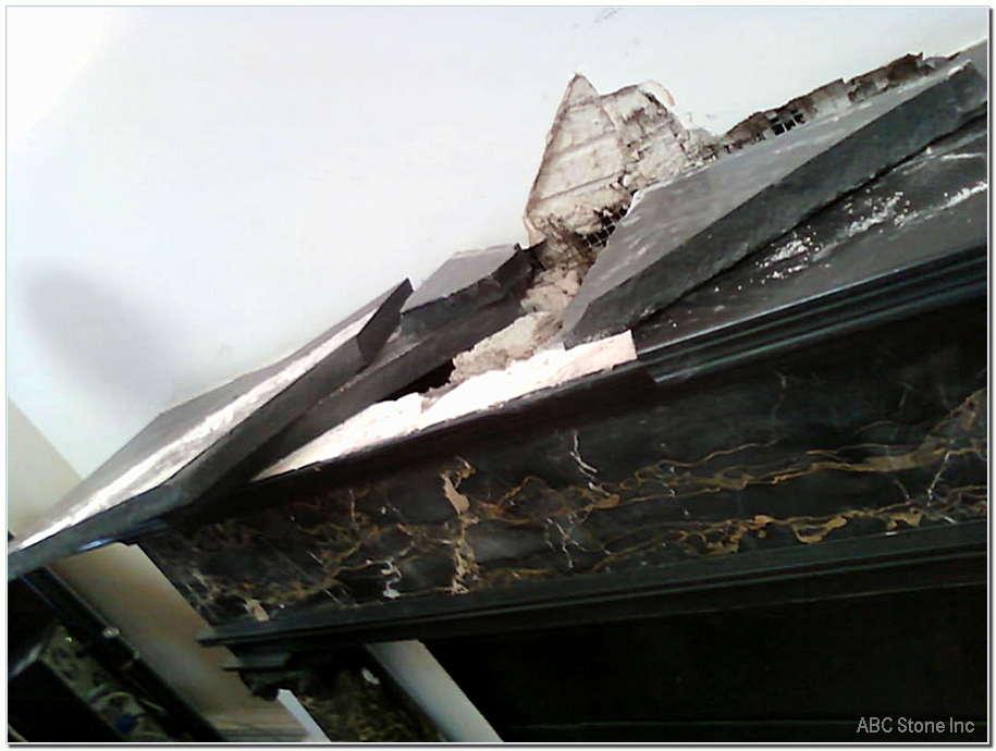 Slate Fireplace Repair