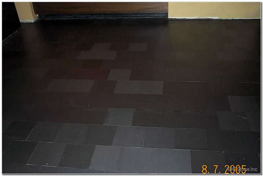 Sealed Slate Floor