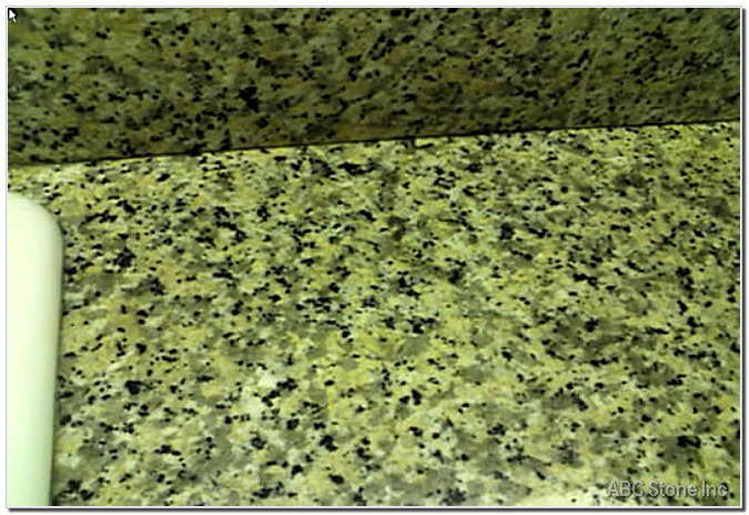 Stained Ring on Granite Countertop