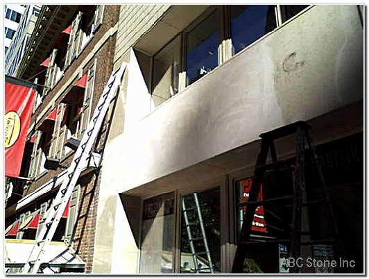 Store Front Panels Restoration