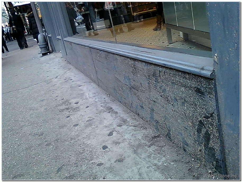 Store Panels Damaged