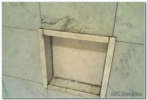 Shower Shelf Before