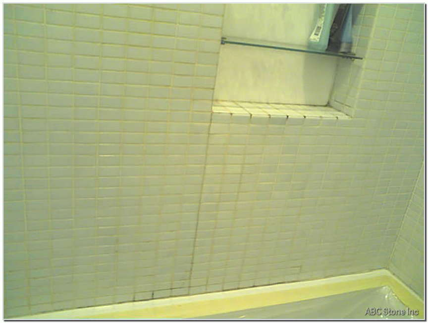 Tiles Re Grouting and Repair. Before