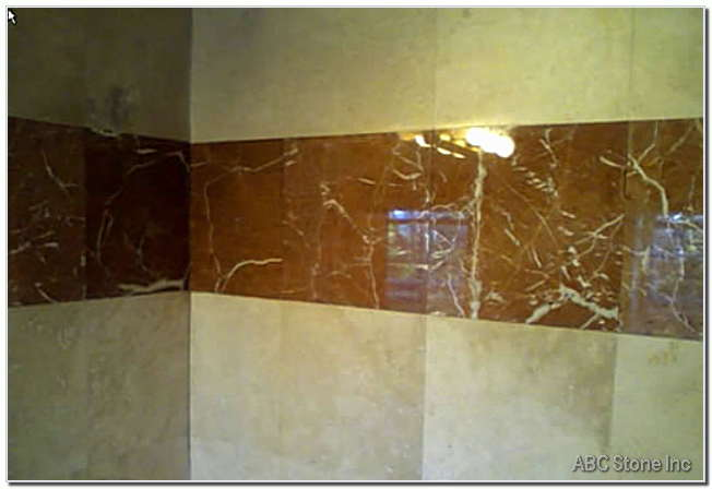 Shower Wall Tiles. Polished